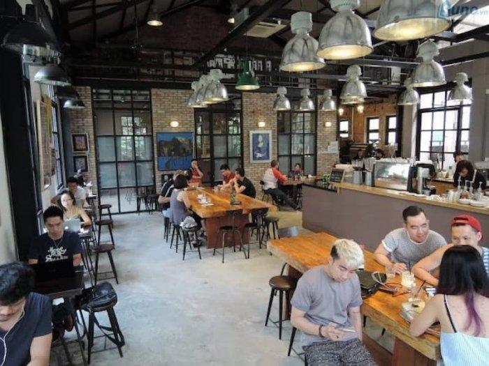 Hình ảnh kinh doanh quán cà phê
